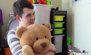 Dad Buys Son Fuck Bear  xxx video  Helps Him Fuck It