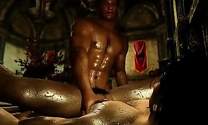 MenPOV Hunks Lick And Sex On Lecherous Night