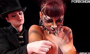 FORBONDAGE - Femdom Circus Corrigendum For A Big Pain in the neck Teen Cosset (Leah Obscure  xxx video  Alissa Noir)
