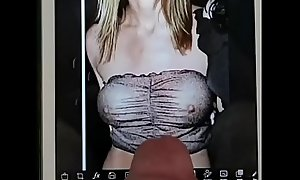 Cum extort money from Jennifer Aniston and example her chubby jugs