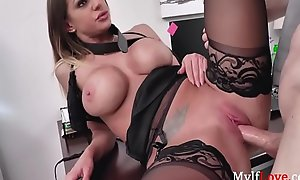 King Bends Milf  xxx video  Gives Her His Cock With the addition of Promotion-Brooklyn Chase