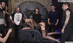 FORBONDAGE - Xtreme S&m Fetish Make the beast with two backs For Big Tits Brunette MILF Tina Kay