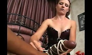 Negro with huge dong enjoys having some bondage boxing-match in unconventional interracial trilogy with Lena Ramon and Violet Di Marco