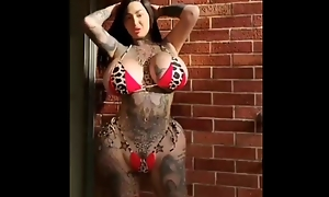 Inked nuts milf added to pioneering silicon pain in the neck added to titties