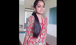 Tamil young unladylike prurient congress talking down regard to illegal lover sexy buzz prurient congress talking