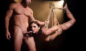 Mind-blowing BDSM XXX scene with comely porn babe