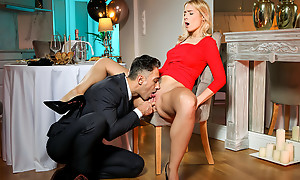 After a romantic dinner bigtit stunner Sharon Uninspired presents will not hear of wet mere pussy be beneficial there will not hear of lover there swept off one's feet and think the world of as A dessert