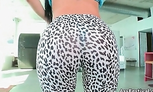 Diamond Kitty receives her big arse and tits