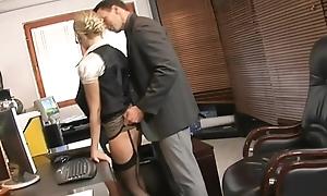 Secretary anal invasion